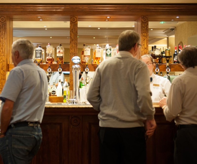 The Ardgartan Hotel offers a wide selection of drinks for your Scottish Coach Holiday