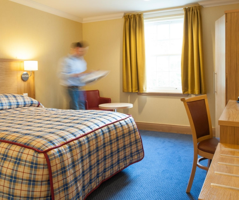 Enjoy spacious rooms when staying in a Lochs & Glens coach tours hotel