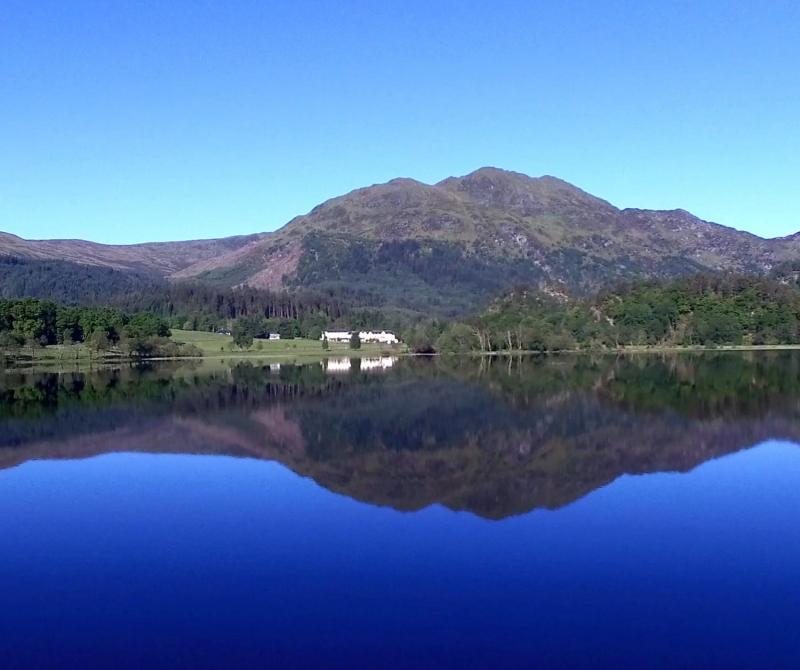 Enjoy a walk around Loch Achray when you stay at Loch's & Glens Loch Achray hotel