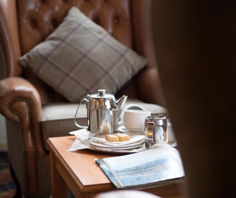 Enjoy an Afternoon Tea when you stay at the Loch Awe Hotel.