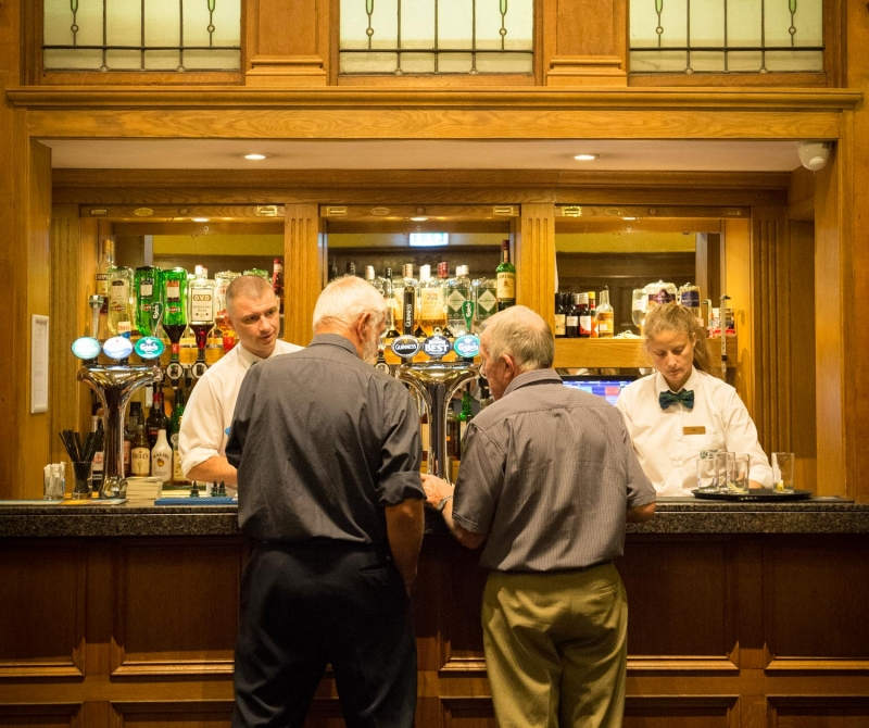 Professional service at Lochs and Glens Hotels