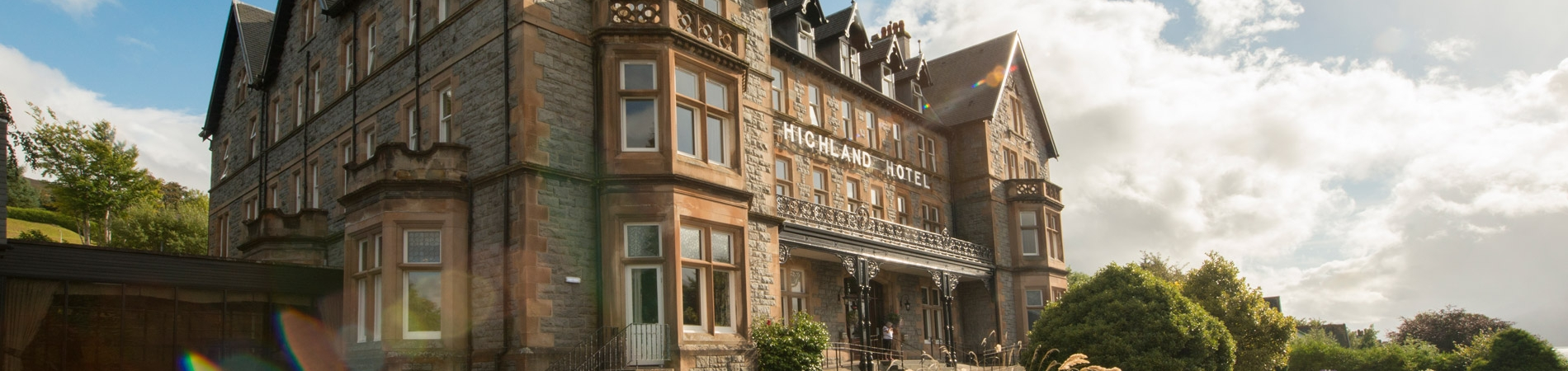 The Highland Hotel, enjoyed by customers of Lochs & Glens Coach Tours