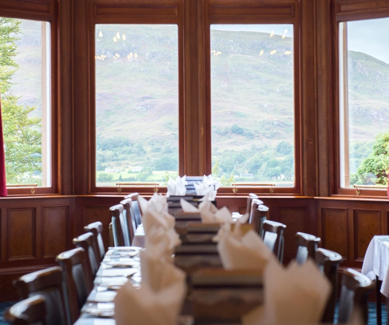 Fine dining when you stay at The Highland Hotel with Lochs & Glens