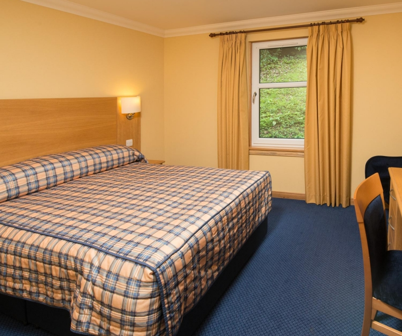 Spacious king rooms with Lochs & Glens Coach tours