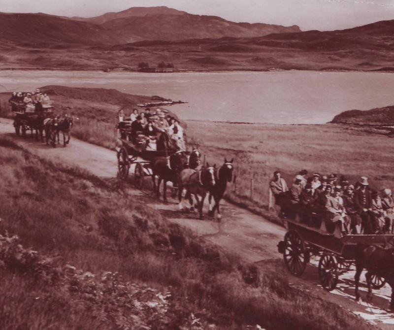 The Inversnaid Hotel's History - Lochs & Glens Scottish Coach Tours