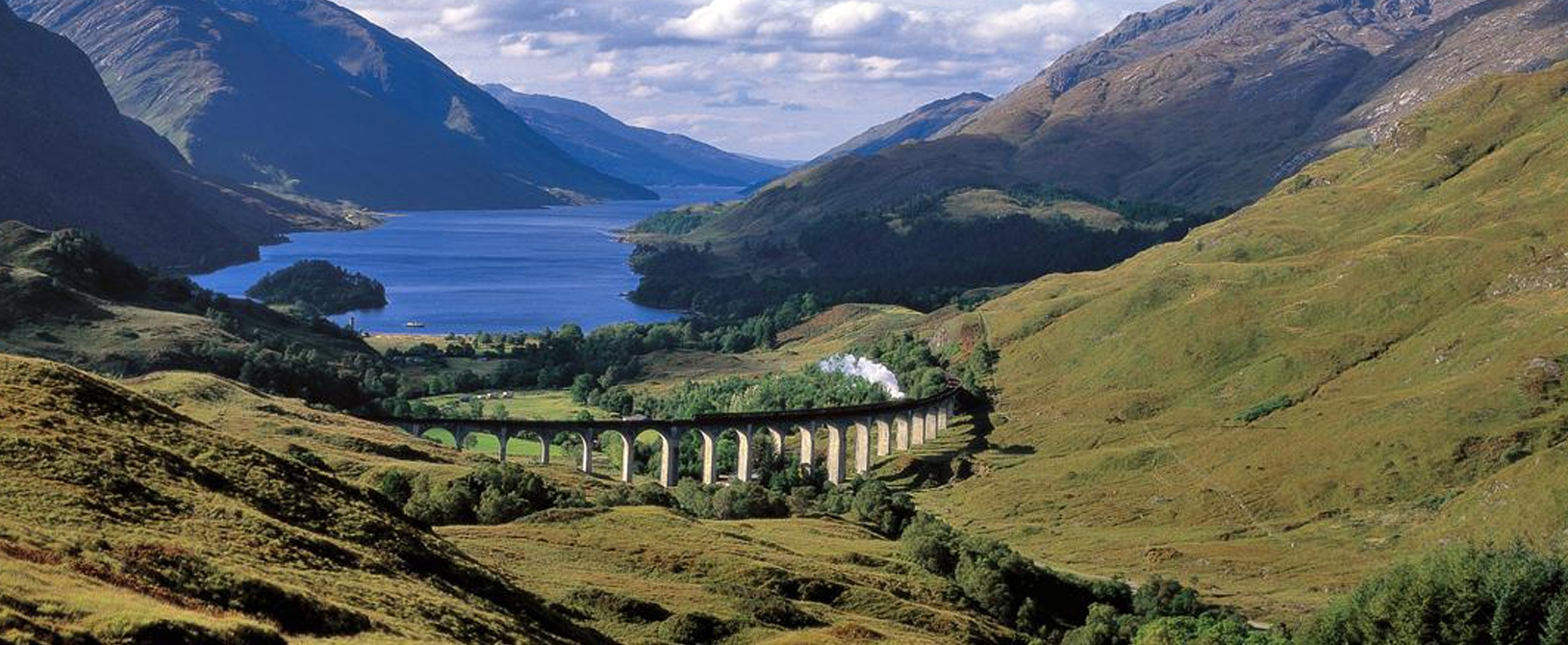 Beautiful views across Scottish Lochs when on a coach tour with Lochs & Glens Holidays