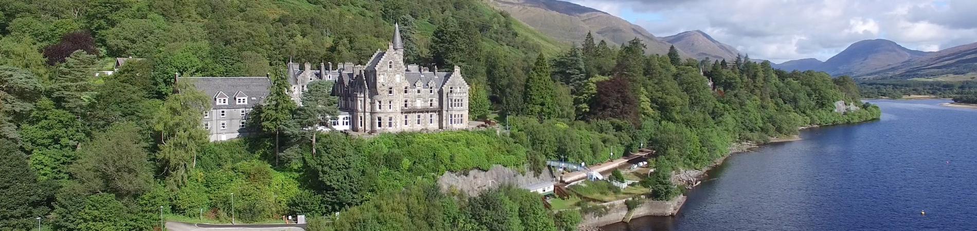 The Loch Awe Hotel overlooking the Loch Awe - Lochs & Glens Coach Holidays and Hotels