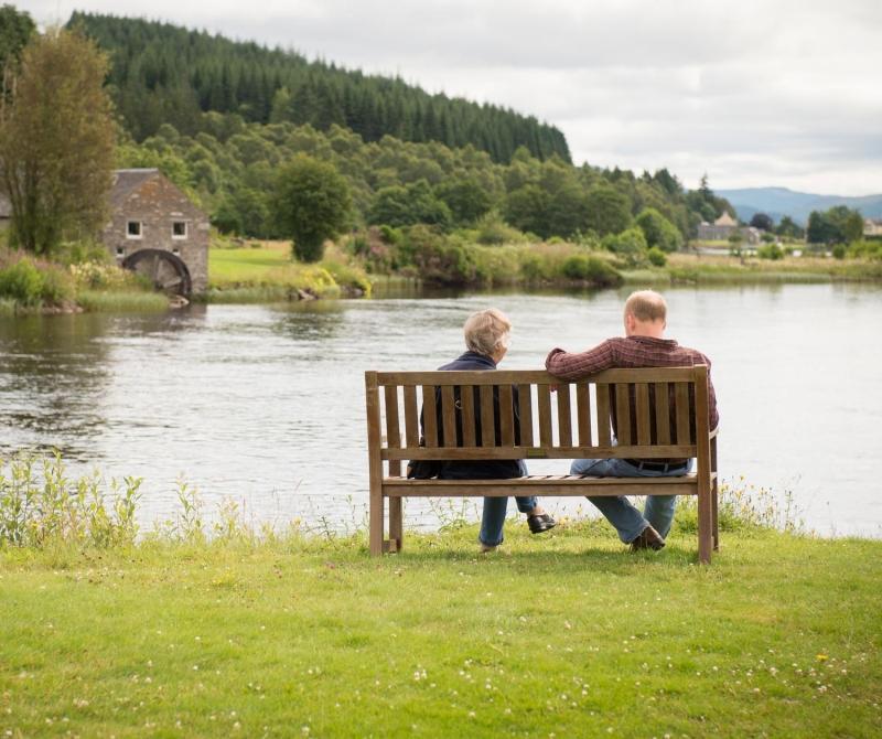 Gaze across the Loch Tummel when you stay at the Loch Tummel Hotel with Lochs & Glens Coach Holidays