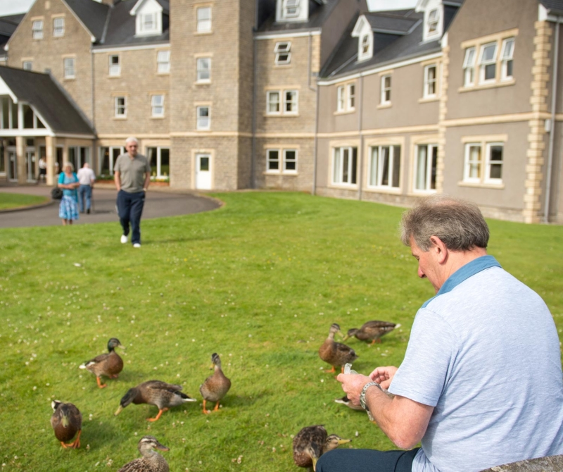 Meet a wide array of wildlife when you stay at the Loch Tummel Hotel with Lochs & Glens coach tours.